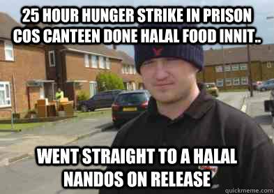 halal food innit
