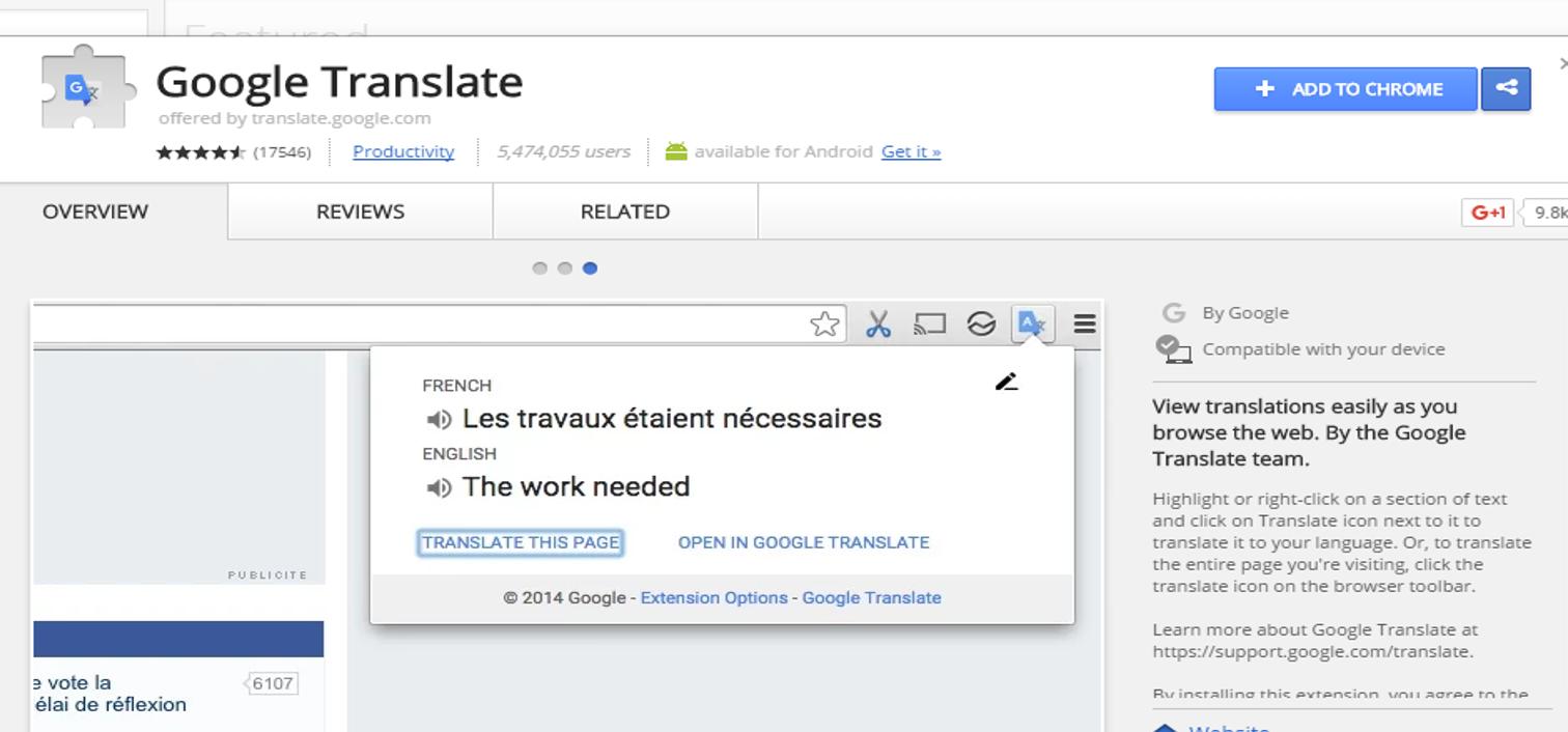 google translate 2