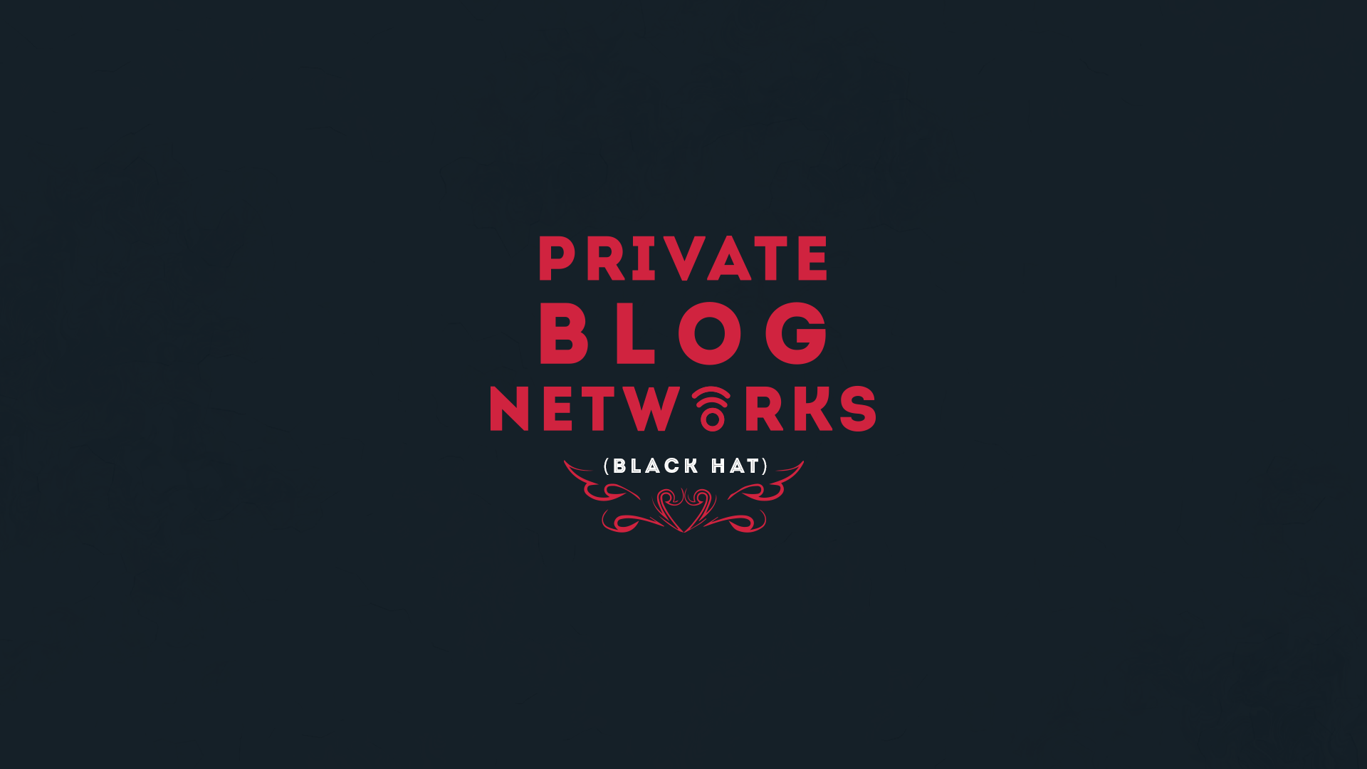 private blog networks