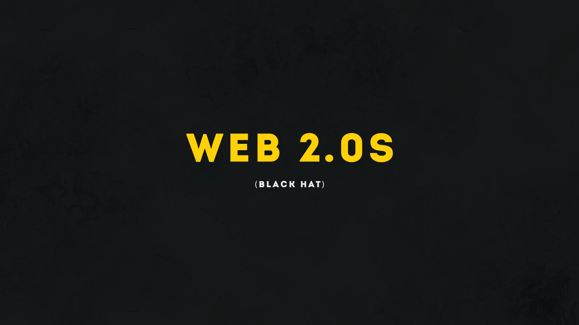 web 2.0s