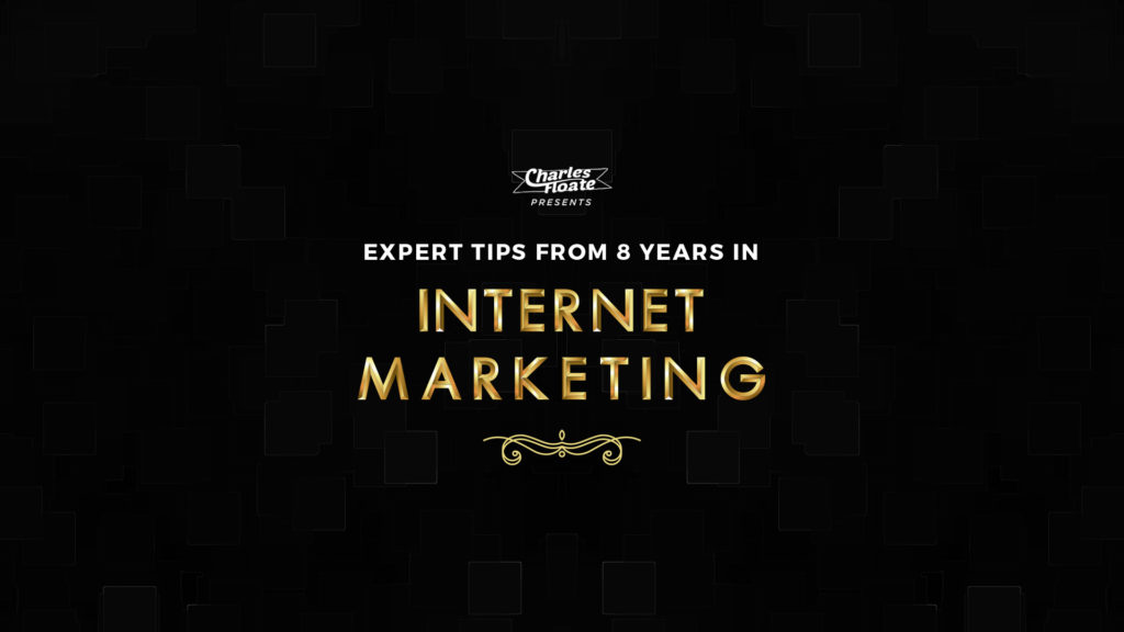 Tips From 8 Years Experience In Internet Marketing