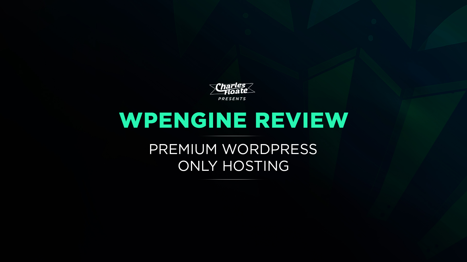 Specifications  WordPress Hosting WP Engine