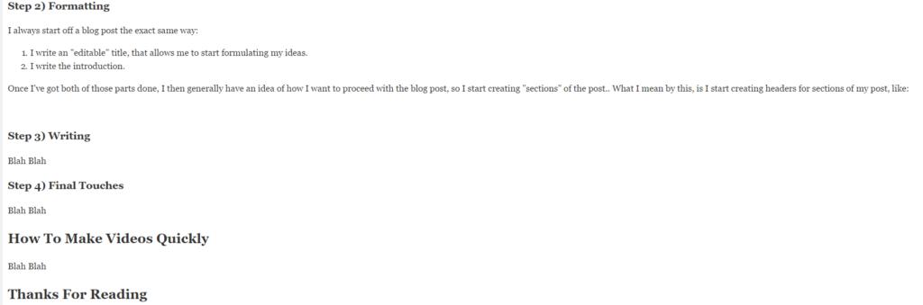 writing-a-blog-post-formatting