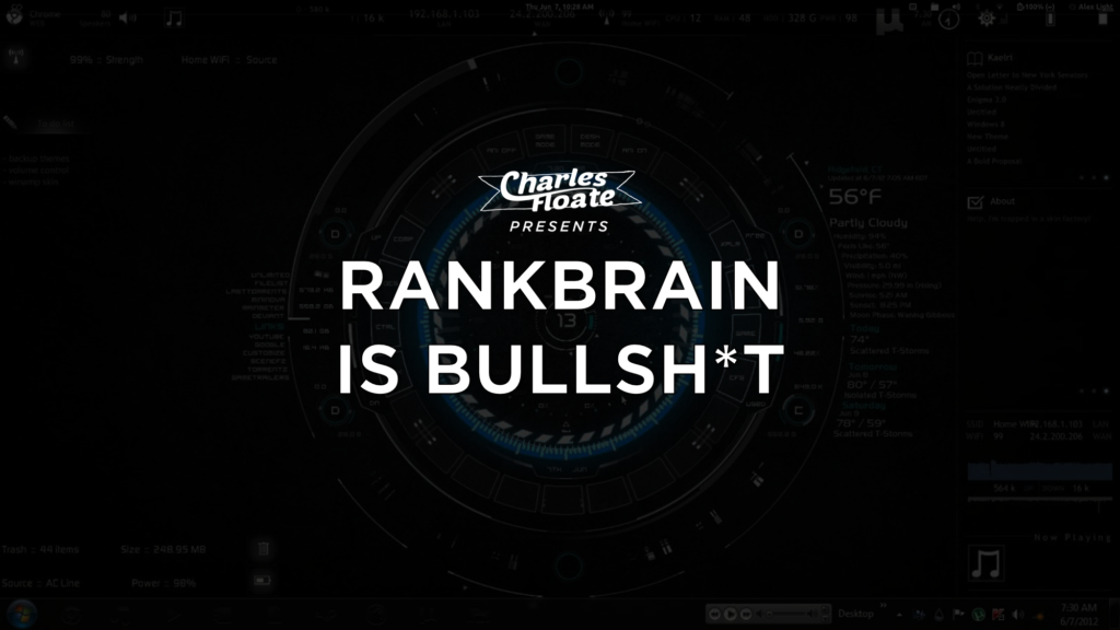Why RankBrain Isn't Real & You Should Stop Worrying